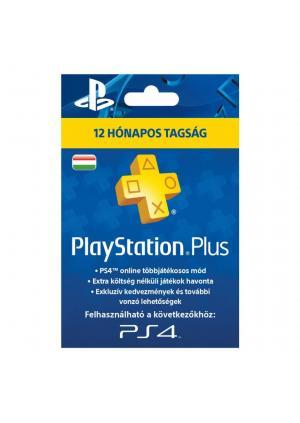 PSN Plus pretplata za PS4 i PS3 12 meseci HUN nalog- GamesGuru