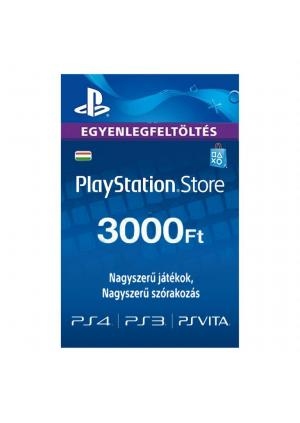 PLAYSTATION NETWORK PSN CARD 3000HUF - GamesGuru