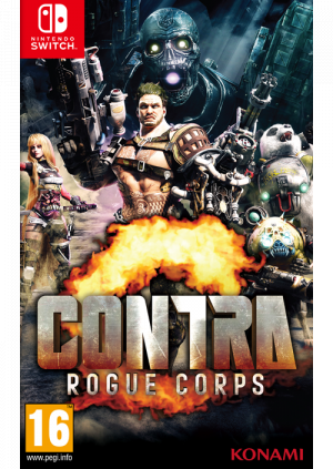 Switch Contra – Rogue Corps - GamesGuru