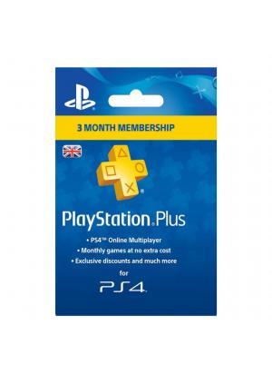 PSN PLUS PRETPLATA ZA PS4 I PS3 3 MESECI UK NALOG - GamesGuru