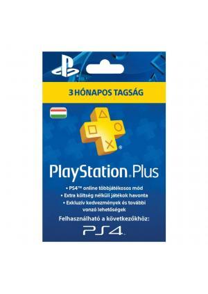 PSN PLUS PRETPLATA ZA PS4 I PS3 3 MESECI HUN NALOG - GamesGuru