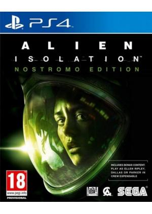 PS4 ALIEN ISOLATION NOSTROMO EDITION