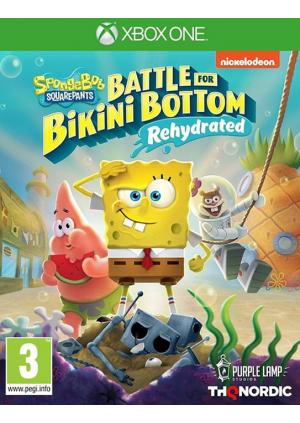 XBOXONE Spongebob SquarePants: Battle for Bikini Bottom - Rehydrated - GamesGuru