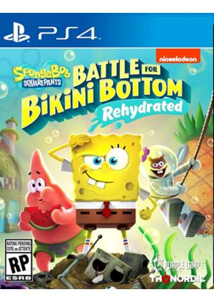 PS4 Spongebob SquarePants: Battle for Bikini Bottom - Rehydrated - GamesGuru