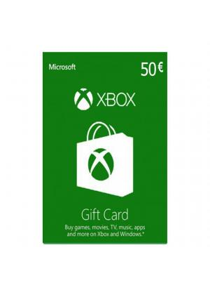 XBOX LIVE GIFT CARD 50 EUR - GamesGuru