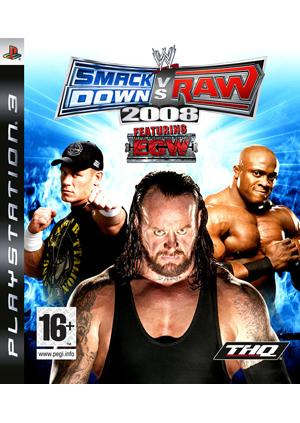 GamesGuru.rs - WWE SmackDown vs Raw 2008 - Igrica za PS3
