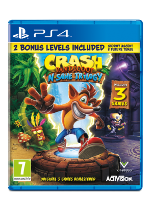 Crash Bandicoot N. Sane Trilogy games guru