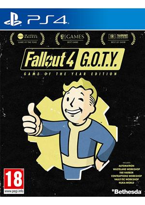 PS4 FALLOUT 4 -Goty Edition - Gamesguru