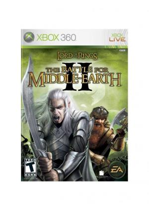 XBOX 360 THE LORD OF THE RINGS THE BATTLE FOR MIDDLE EARTH 2