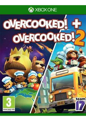 XBOX ONE OVERCOOKED + OVERCOOKED 2 DOUBLE PACK - GamesGuru
