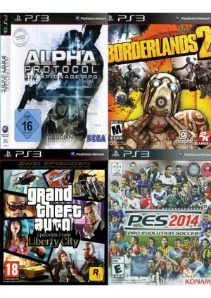 PS3 KORISĆENE IGRE 4IN1- PAK 2 -GamesGuru