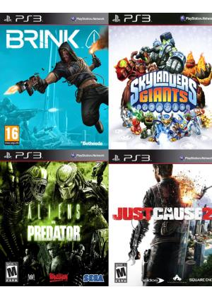 PS3 KORISĆENE IGRE 4IN1- PAK 3 - GamesGuru