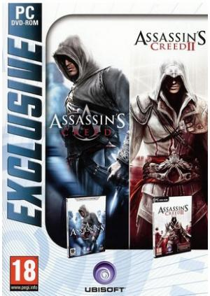 GamesGuru.rs - Assassin's Creed 1&2 Collection - Originalne igrice za kompjuter