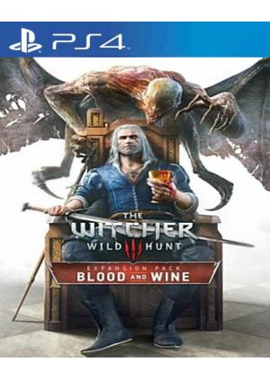 The Witcher 3 Wild Hunt Blood and Wine PS4