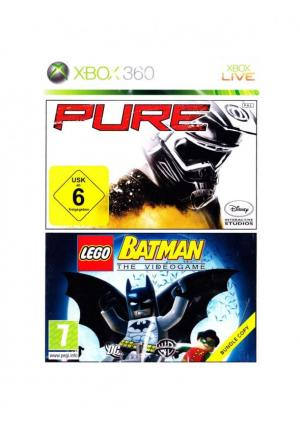 XBOX 360 PURE + LEGO BATMAN