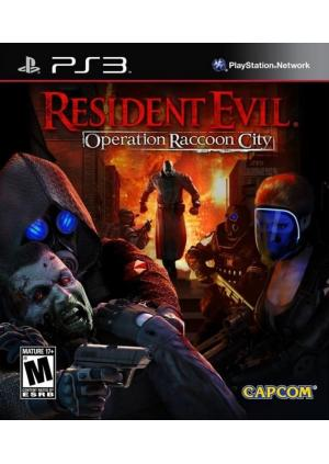 PS3 RESIDENT EVIL OPERATION RACCOON CITY
