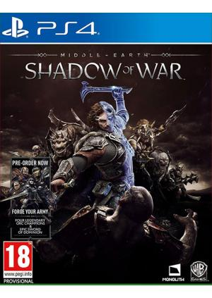 PS4 Middle Earth: Shadow of War - GamesGuru