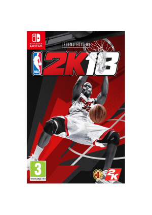 Switch NBA 2K18 Shaq Legend Edition