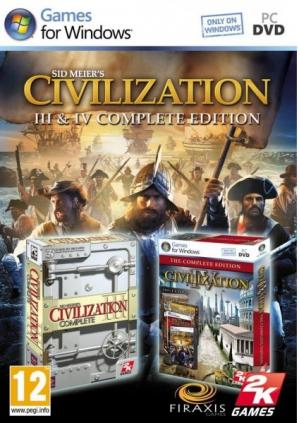 sid meier civilization 3 and 4 complete