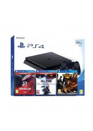 PlayStation PS4 SLIM 500GB KONZOLA + 3 IGRE - GamesGuru