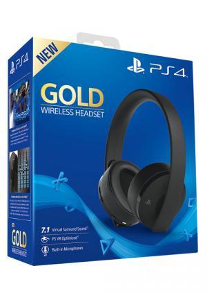 Slušalice PS4 Wireless Headset Gold - GamesGuru