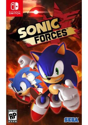 Switch Sonic Forces Day One Edition