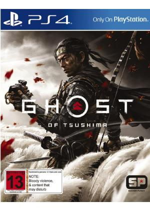 PS4 Ghost Of Tsushima - GamesGuru