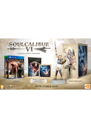 PS4 - SOUL CALIBUR VI LIMITED SILVER COLLECTOR'S EDITION