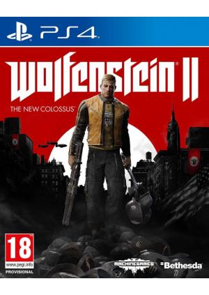 PS4 Wolfenstein 2 The New Colossus Collector's Edition