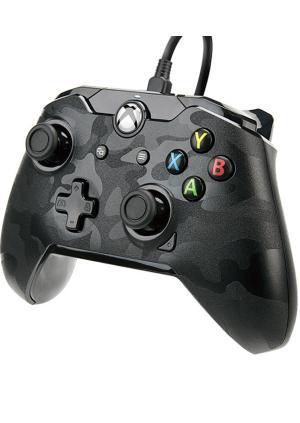XBOX ONE& PC Wired Controller Black Camo - GamesGuru