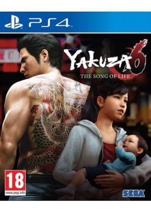PS4 YAKUZA 6 SONG OF LIFE - LAUNCH EDITION- GAMESGURU