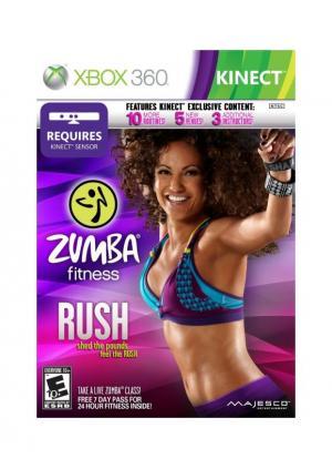 XBOX 360 ZUMBA FITNESS RUSH KINECT