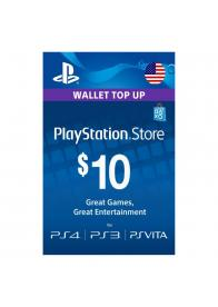 PLAYSTATION NETWORK PSN CARD 10 USD - GamesGuru