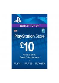 PLAYSTATION NETWORK PSN CARD 10 GBP - GamesGuru