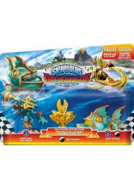 Skylanders SuperChargers Racing Sea Pack ( Deep Dive Gill Grunt + Reef Ripper + Villain Sea Trophy)