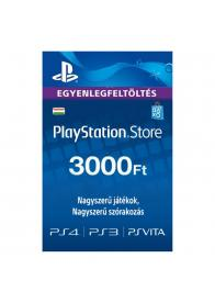 PLAYSTATION NETWORK PSN CARD 3000HUF - GamesGuru