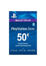PLAYSTATION NETWORK PSN CARD 50 EUR - GamesGuru