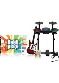 GamesGuru - Band Hero Super Bundle - Igrica, gitara, bubnjevi i mikrofon za PS3