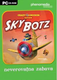 GamesGuru.rs - Crazy Chicken Action Sky Botz - Igrica za kompjuter