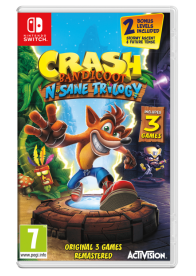 SWITCH CRASH BANDICOOT N.SANE TRILOGY - TBA
