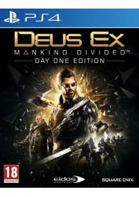 PS4 DEUS EX MANKIND DIVIDED D1 EDITION