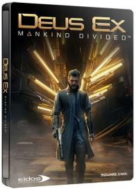 Deus Ex: Mankind Divided Steelbook
