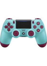 Dualshock 4 Wireless Controller PS4 Berry Blue - GamesGuru