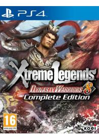 PS4 DYNASTY WARRIORS 8 XTREME LEGENDS COMPLETE EDITION