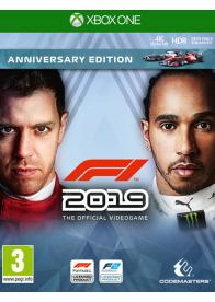 XBOX ONE F1 2019 - Anniversary Edition - GamesGuru