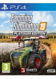 PS4 Farming Simulator 19 Platinum - GamesGuru