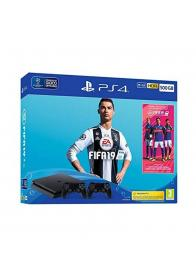 PS4 PlayStation 500GB  + DS4 + FIFA 19- GamesGuru