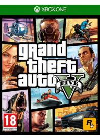 Second Hand XBOX ONE Grand Theft Auto 5 - GamesGuru