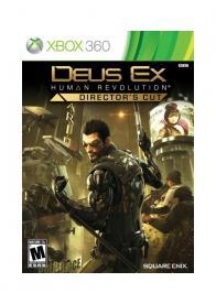 XBOX 360 DEUS EX HUMAN REVOLUTION DIRECTORS CUT