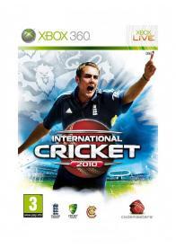 XBOX 360 INTERNATIONAL CRICKET 2010